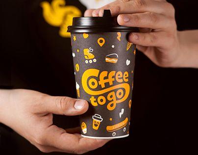 «Coffee to Go» – cеть кафеен быстрого обслуживания в Челябинске.«Coffee to Go», the quick-service cafe in Chelyabinsk, Russia.