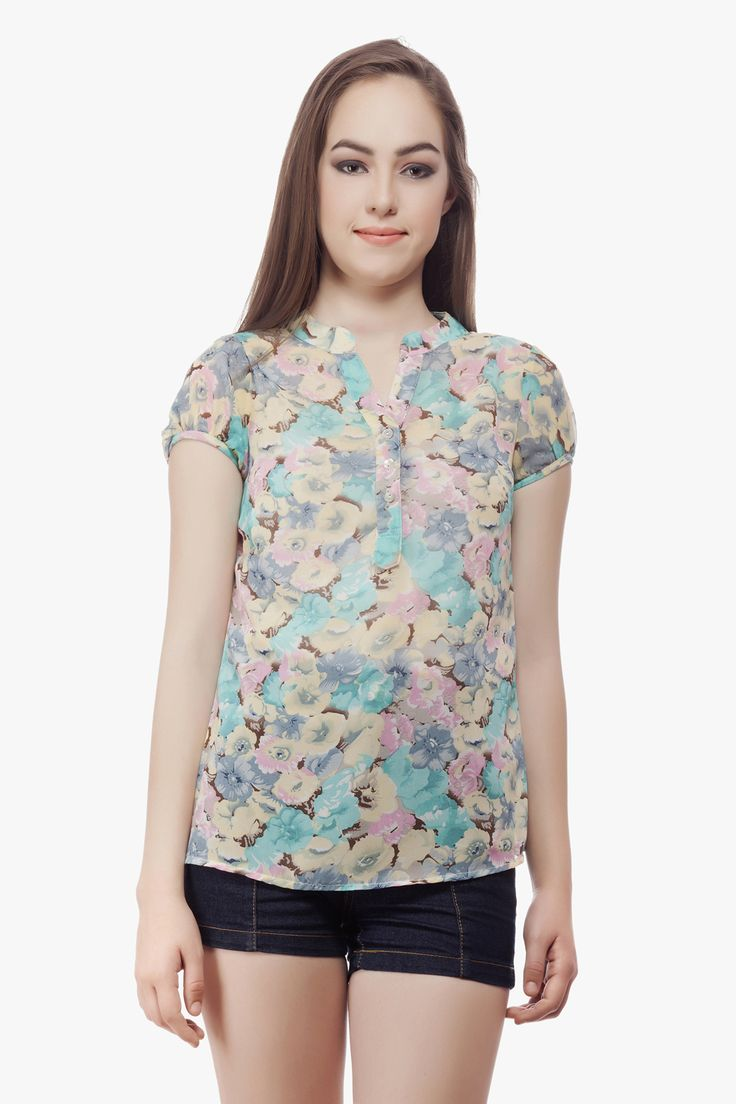 Floral print top from Miss Queen