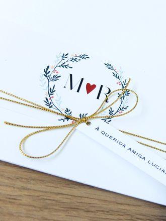 Convite Cinta Guirlanda