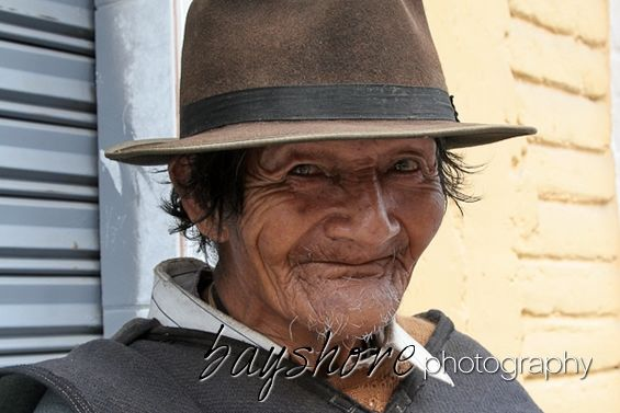 This elderly man we met in Ecuador kindly consented to this portrait. by Bayshore Photography @bayshorephoto