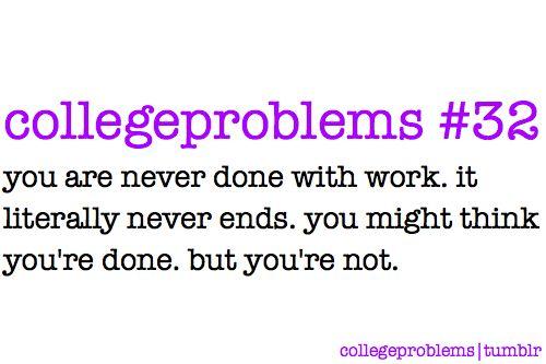 Collegeproblems