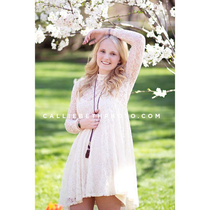 Callie Beth Photo + Design // calliebethphoto.com // #calliebethphoto // Senior, Senior Pictures, Girl Senior Pictures, Senior Picture Props, Rockwall Photographer, Dallas Photographer, Outdoor Pictures, Flowers, Lace, Dallas Arboredum