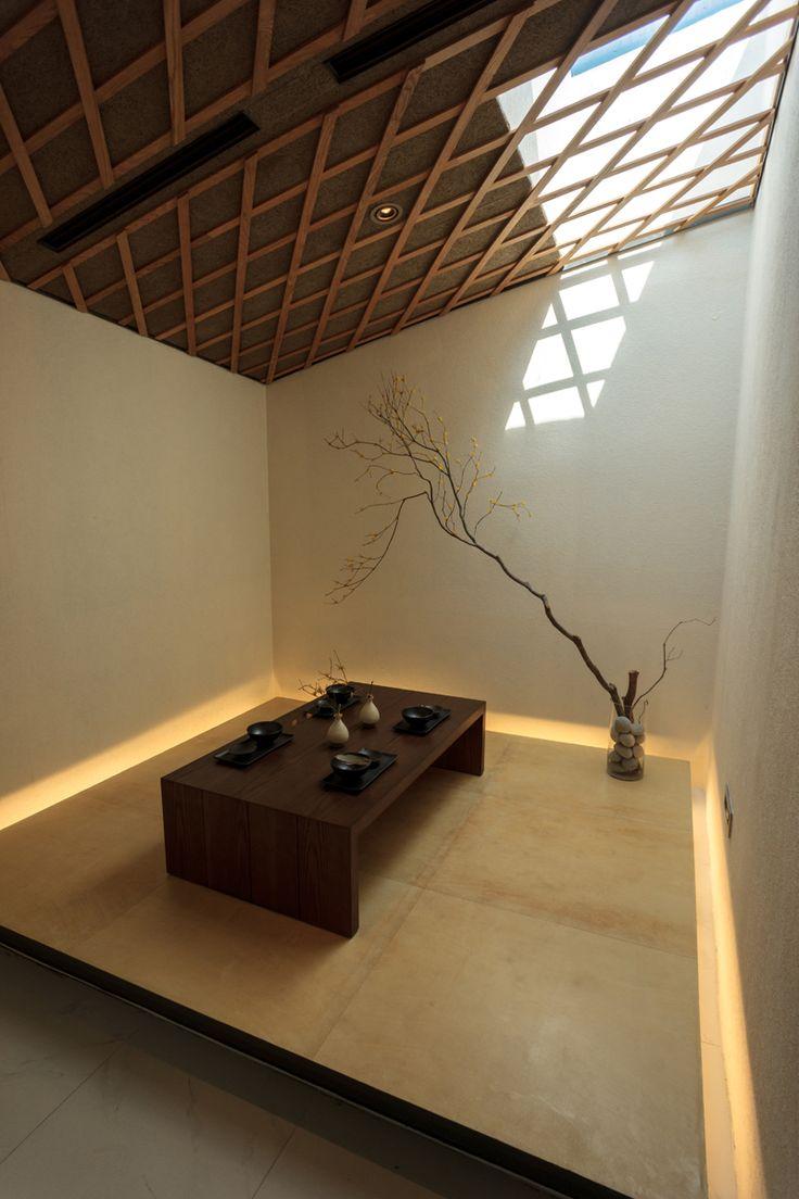 Floor paper & Indirect lighting