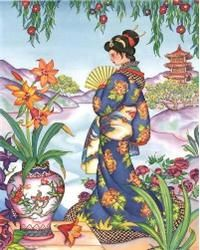 Beautifully-colored and richly detailed counted cross stitch pattern that is easy enough for the beginner yet stimulating enough for even the most advanced stitcher. Designed in full cross stitch only. With 12 years experience, Mystic Stitch is one of the first innovative Needlework Design Companies to specialize Soley in the conversion of Fine artwork & Photographs to cross stitch patterns. Often Imitated, Never Duplicated!! Quality you have come to expect & count on~