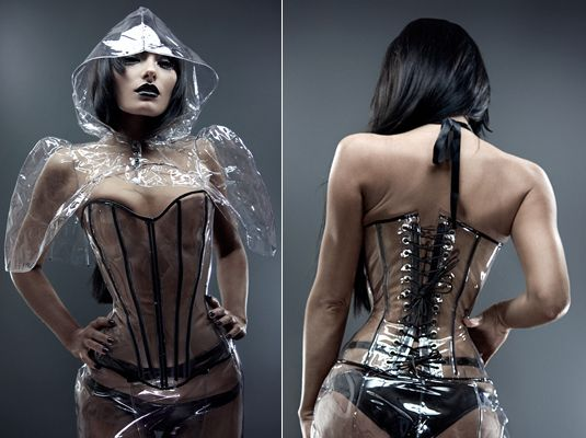 Fetish plastic search wear web