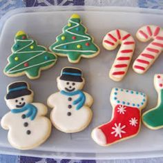 Cream Cheese Sugar Cookies Allrecipes.com  Recipe I made this year with Cyd and Colt....Yummy!