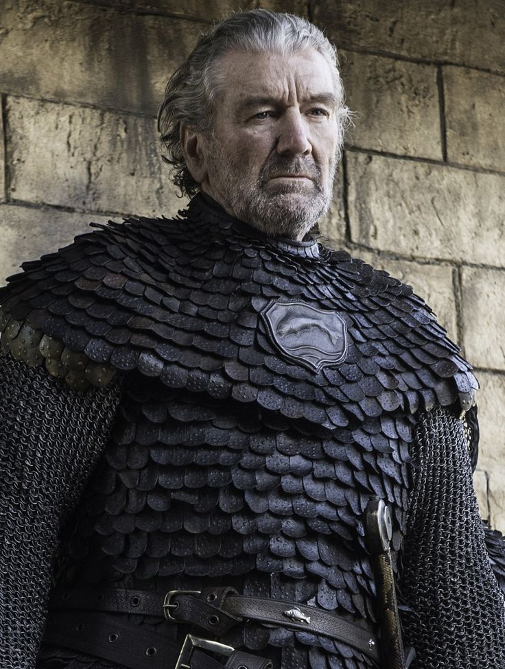 """Ser Brynden Tully, popularly called """"the Blackfish"""", is a recurring character in the third and sixth seasons. He is played by Clive Russell. Ser Brynden Tully is a knight and a member of House Tully. He is the younger brother of Lord Hoster Tully, and the uncle of Catelyn, Lysa, and Edmure Tully. After the massacre of the Northern army at the Red Wedding and the death of Robb Stark, the Blackfish reassembles the remnants of the Tully host and retakes Riverrun from House Frey, becoming the…"""