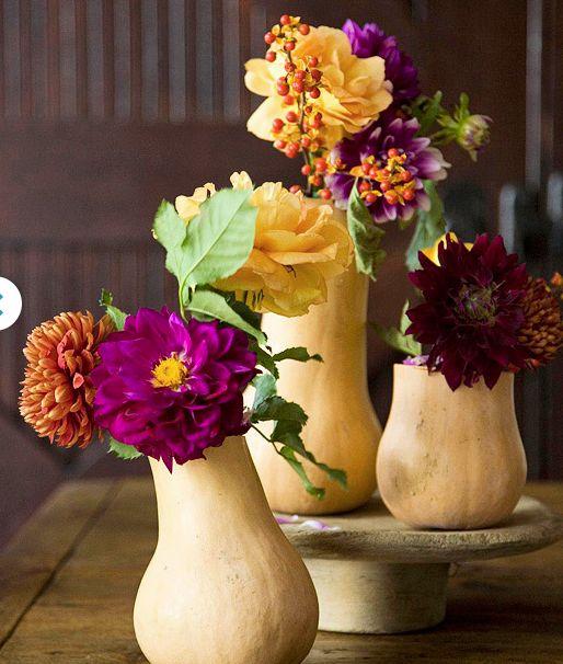 Butternut Squash vases