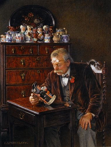 Charles Spencelayh (british, 1865-1958)