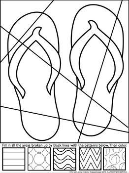 POP ART INTERACTIVE COLORING SHEET: FREEBIE FOR SPRING/SUMMER - TeachersPayTeachers.com