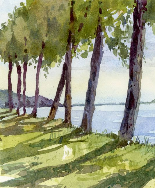 Great blog for plein air sketching