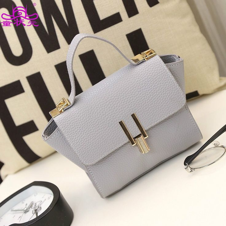 2016  New Trend Model Pack The Woman's Hand Lading Bill's Shoulder Over The Satchel Fashion European Bat's Packaging Bag