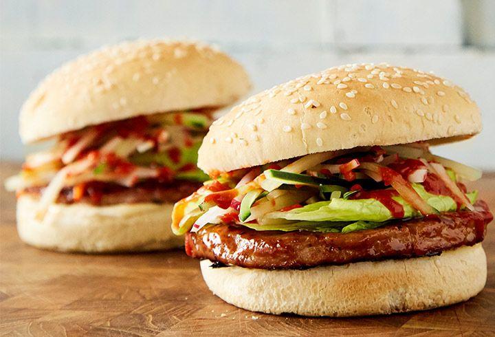 Te damos una opción más para preparar nuestras sabrosas hamburguesas con esta receta de Hamburguesa de atún teriyaki. !Su sabor te sorprenderá!