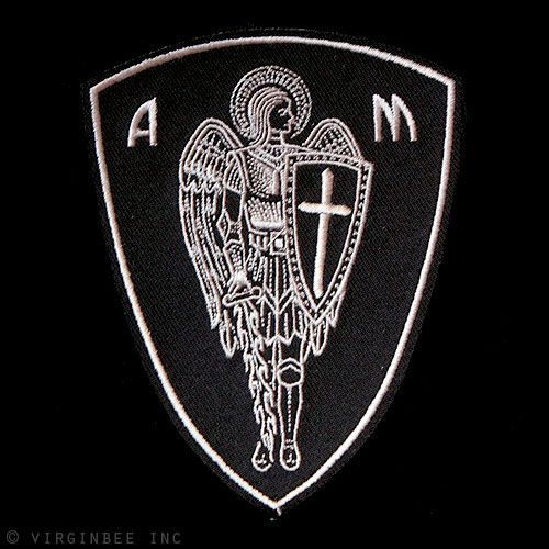 Archangel Michael: Patron saint of paratroopers...implement patch into military tattoo