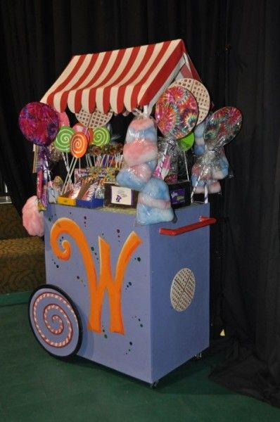 Willy's Candy Cart - Definetly need something similar for early on in the musical!