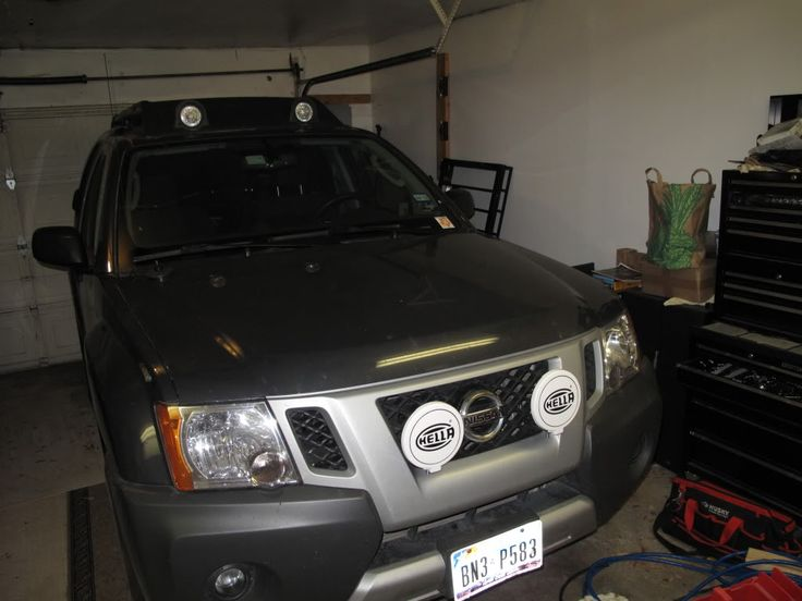 How-to: Mount Lights on 2009-11 Without Driling Holes in The Grille - Second Generation Nissan Xterra Forums (2005+)