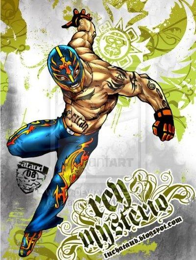 Rey Mysterio by ~ataud on deviantART