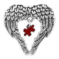 Wings of an Angel Autism Awareness Pin at The Autism Site