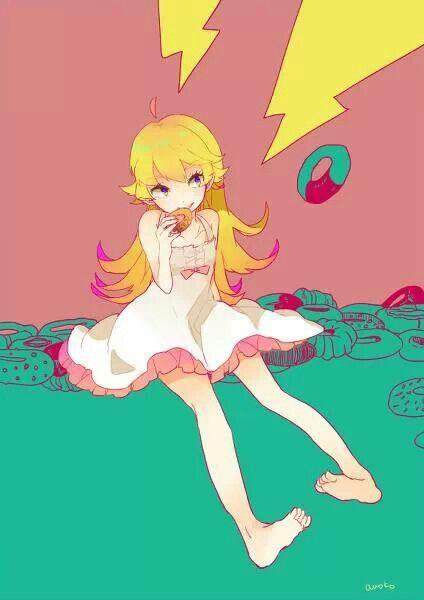 Shinobou from Monogatari series.
