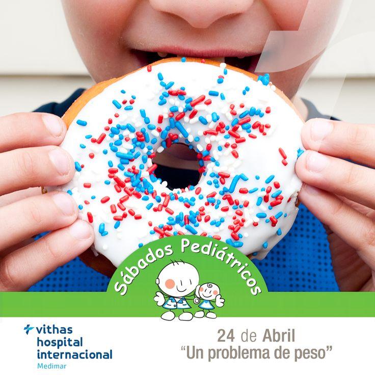 El próximo 24 de abril os invitamos a un nuevo #SábadoPediátrico en el que abordaremos el tema de la #alimentación en los más pequeños.