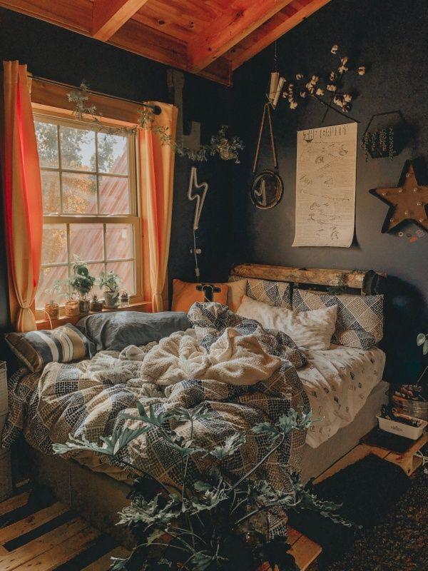 Plant Bedroom Aesthetic Dorm