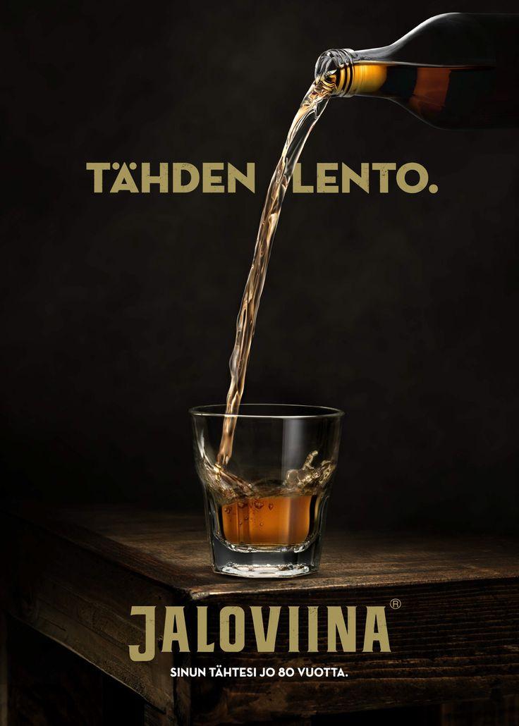 Jaloviina 80 years / Poster