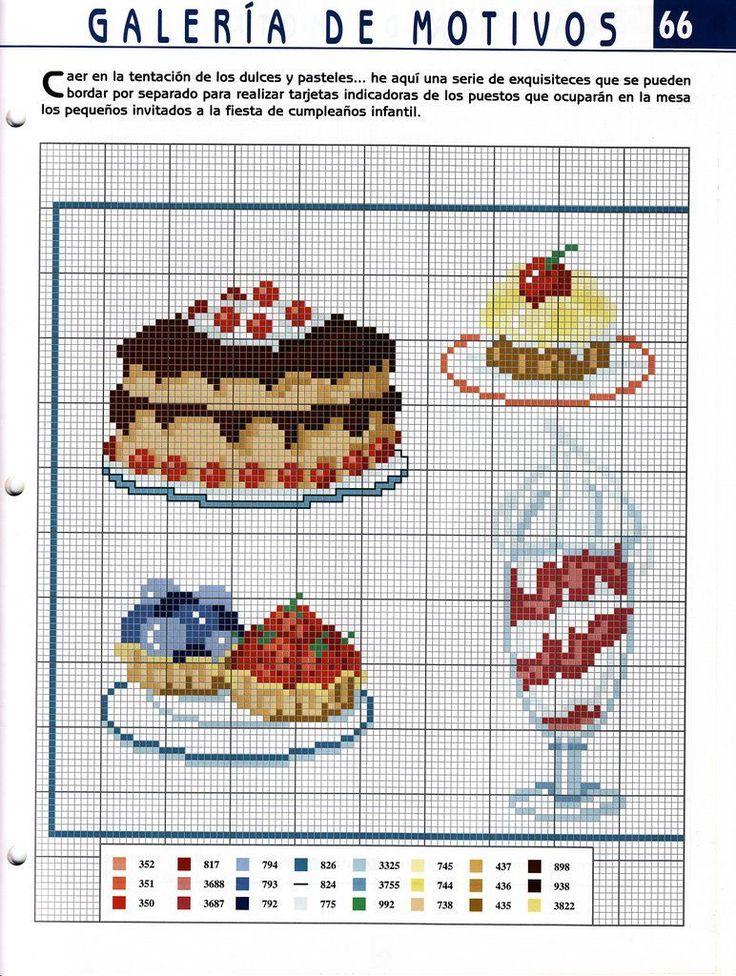 Charts Cross Stitch and Craft: Kitchen