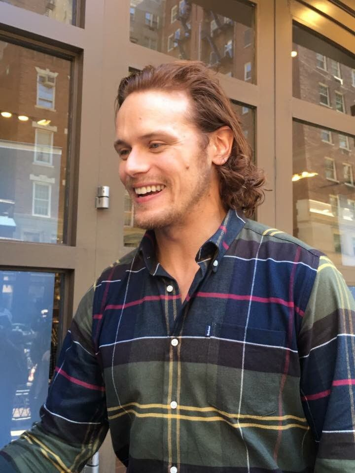 ♡ All you need is Love ♡ : Photo Sam Heughan 22. September 2016 NYC