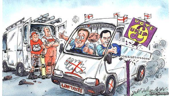 Wooing white-van man | The Economist