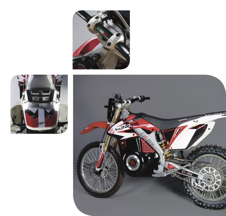 """Elettra Off Road, the """"Mud"""" version of 100% electric motorcycle by Rondine Motor #electric #mobility #motorcycle"""