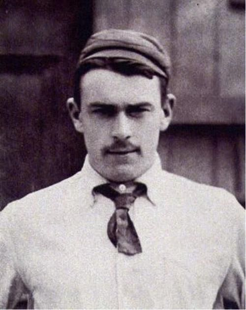 Thomas Andrews in Cricket Whites
