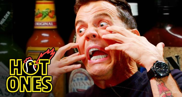 Steve-O Tells Insane Stories While Eating Spicy Wings