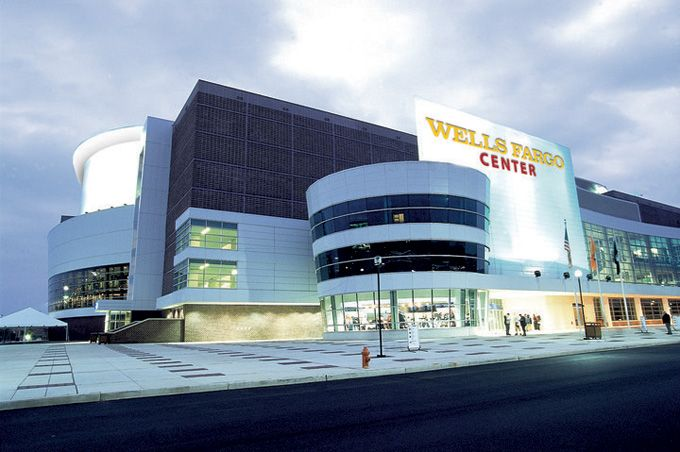 The Wells Fargo Center in South Philadelphia is the host of the 2014 NHL Draft, Friday, June 27 and Saturday, June 28