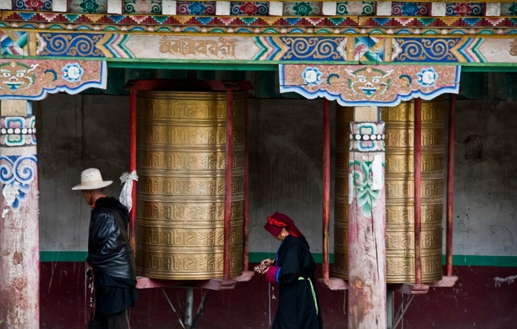 Tagong, the mountainous Tibetan West of China