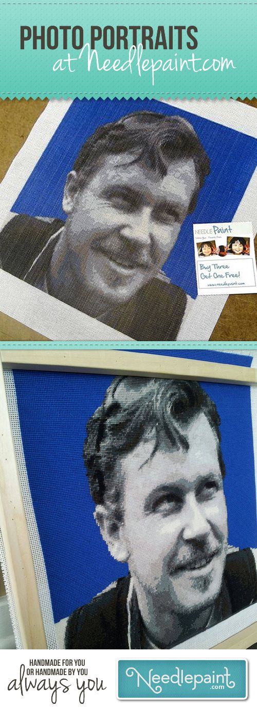 Are you looking to #needlepointAphoto, or have an amazing custom #NeedlepointPillow stitched for you from a photo?  Give our needlepoint designer a try and see how your photo will look in needlepoint! http://www.needlepaint.com/needlepoint/custom www.NeedlePaint.com