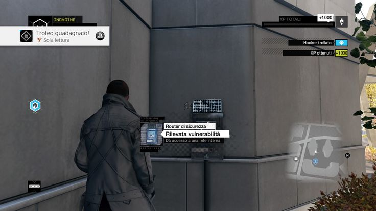 """Sola lettura"" - Watch Dogs"