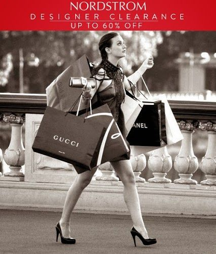 #Nordstrom Clearance Sale: Save up to 60% on designer apparel, shoes, handbags and more.
