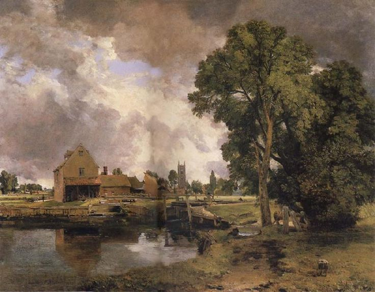 John constable dedham vale evening dress