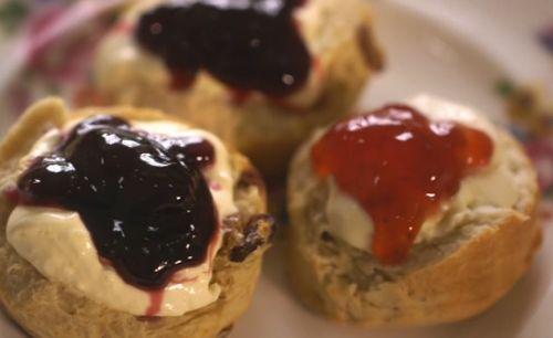 Mary Berry classic plain and sultana scones recipe for a Devon cream tea on Mary Berry's Country House Secrets