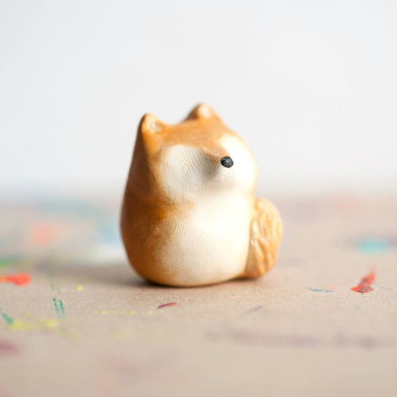 Le Shiba Inu FatFat Totem Made to Order Pocket Totem by leanimale