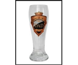 Dad or Pop Beer Glass