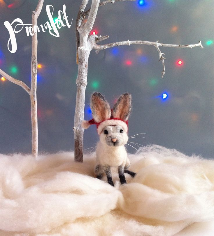 Needle felted rabbit #needlefeltedanimals, #needlefelted, #feltedanimals, #needlefelting, #miniatureanimalfigurines #toytoys #handmade #natural #fiberart #cute #realisticanimal #homedecor #birthdaygift #giftideas #merinowool #animalsculpture #miniaturegift #naturalwool #handmadeanimal #happyanimals #naturalwooltoys #christmas #ecofrendly #waldorf #ecotoys #feltcrafts #childrenkids #giftforanimallovers  #giftforcraftlovers  #funny
