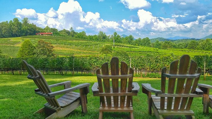 Afternoon at Crane Creek Vineyard Outdoor chairs