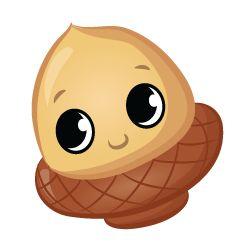 Nutty Hazel – Squinkies 'Do Drops Character Rare