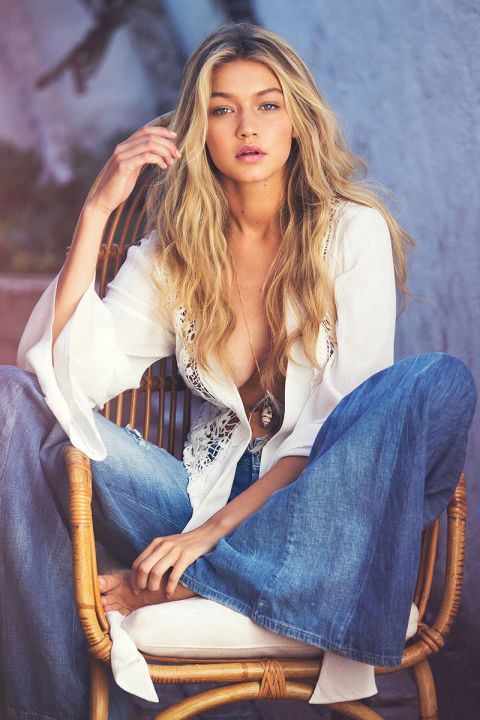 GIGI HADID, 2014 | Guess Girls Through the Years - Guess Jeans Models