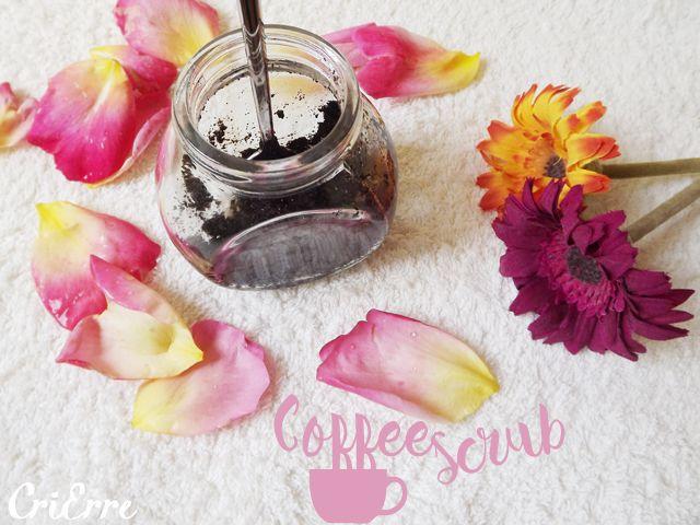 Scrub al caffè - Coffee scrub