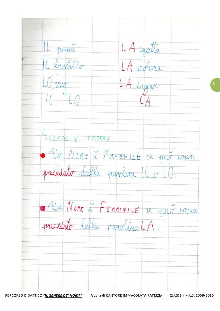 IL GENERE DEI NOMI   PDF to Flipbook