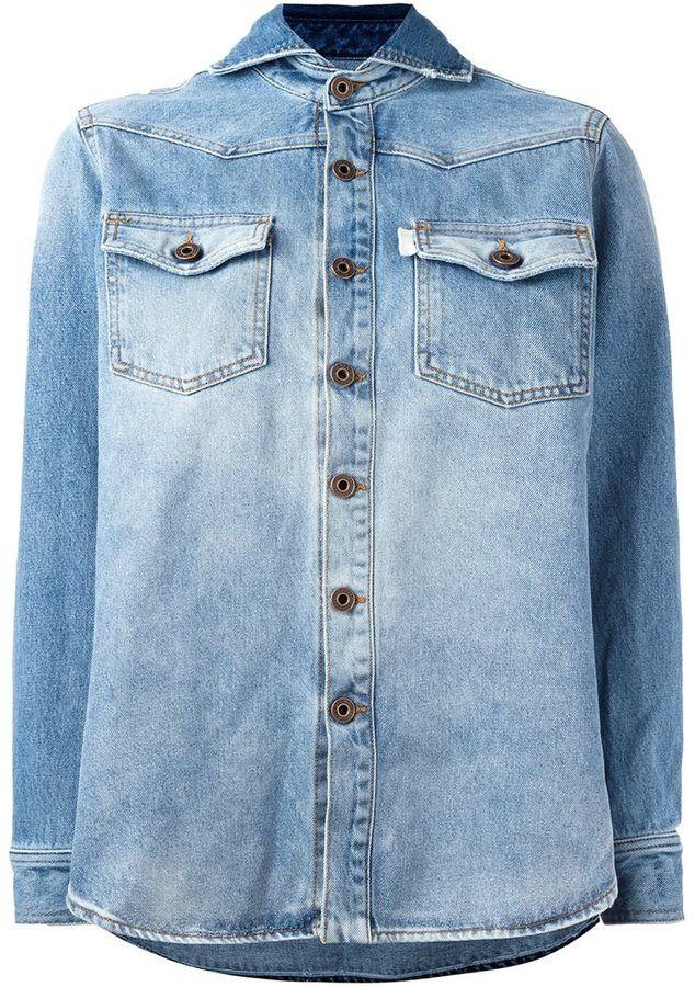 Off-White 'Vintage Wash' denim jacket