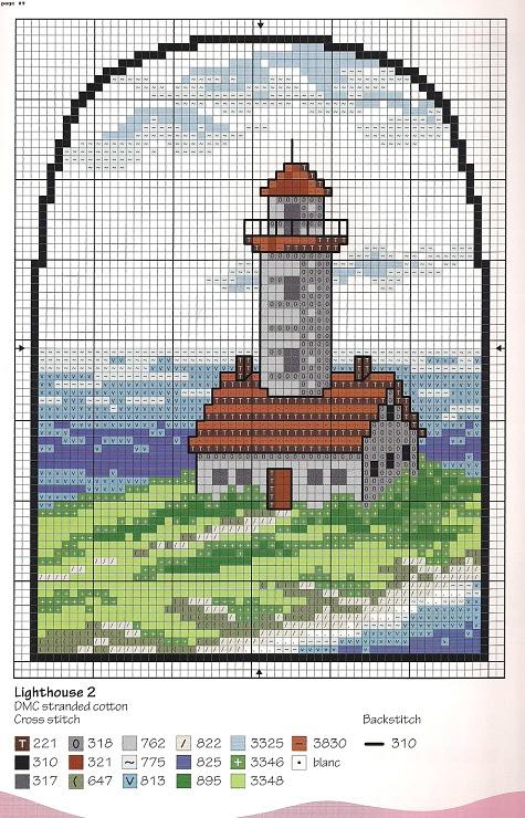 Gallery.ru / Фото #91 - Cross Stitch By the Sea - irislena