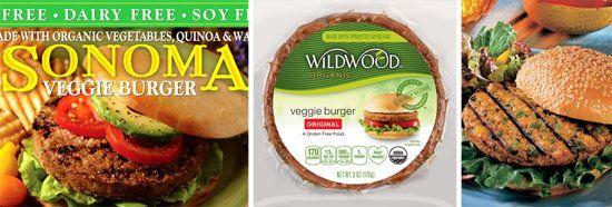 Nutrition breakdown  in Vegan and Gluten-Free Veggie Burgers
